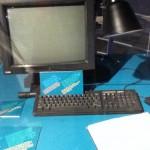 Der CERN-Computer, auf dem das WWW entwickelt wurde. Foto: BOD