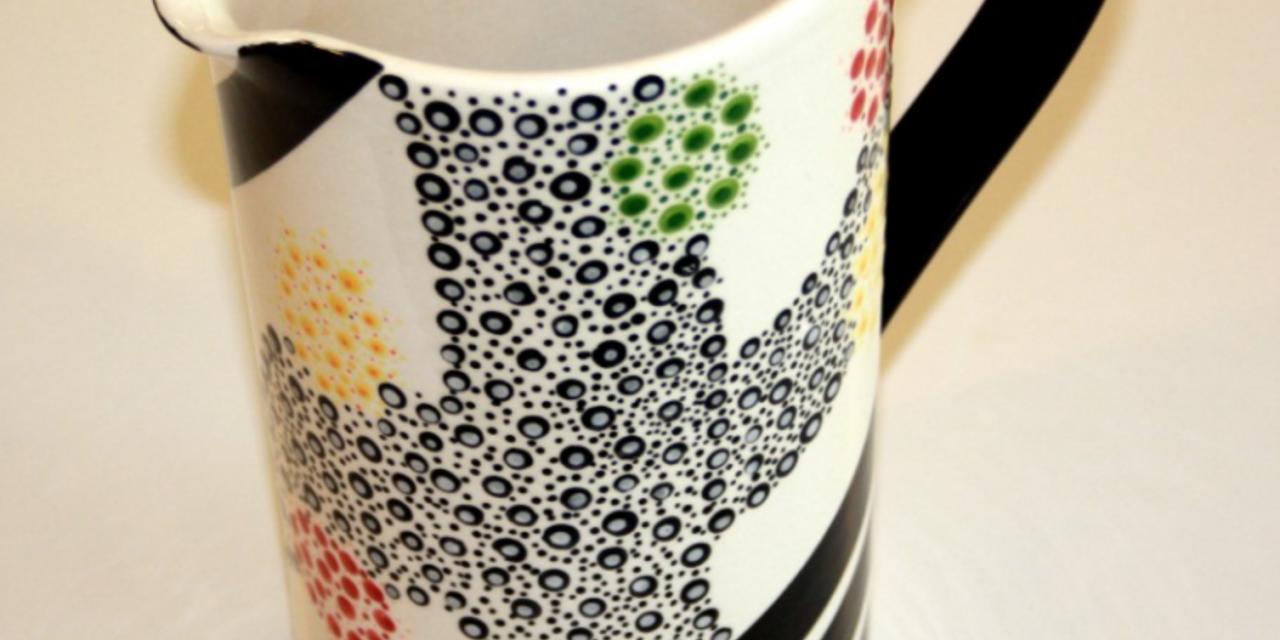 Keramik selbst bemalt