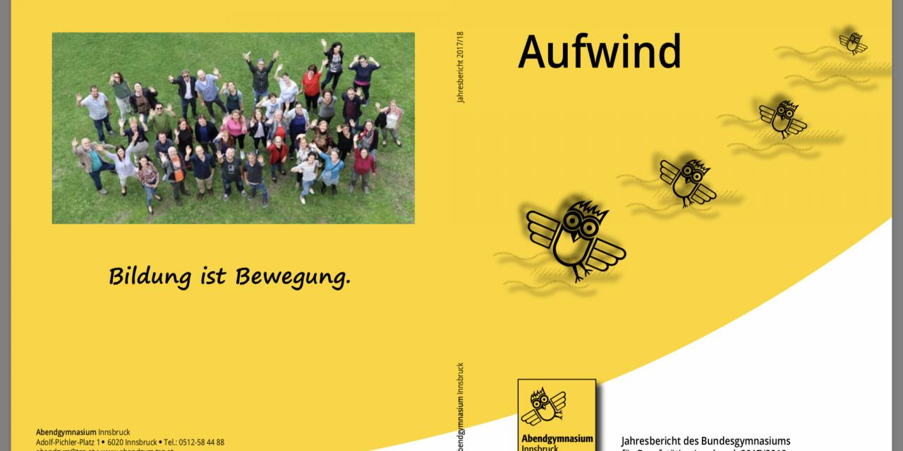 Jahresbericht Abendgymnasium Innsbruck