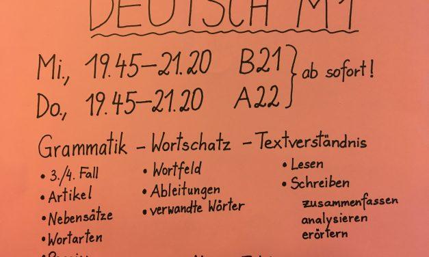 Deutsch Förderkurs