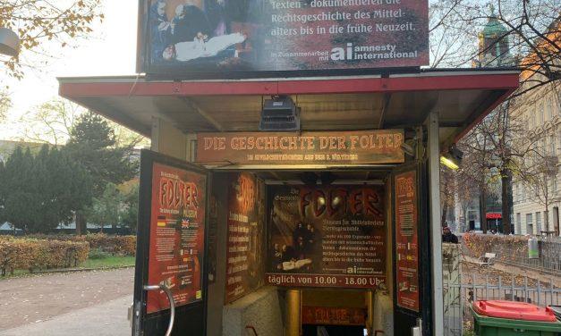 """Exkursion ins Foltermuseum im Rahmen des WPF """"Sprache und Recht"""""""