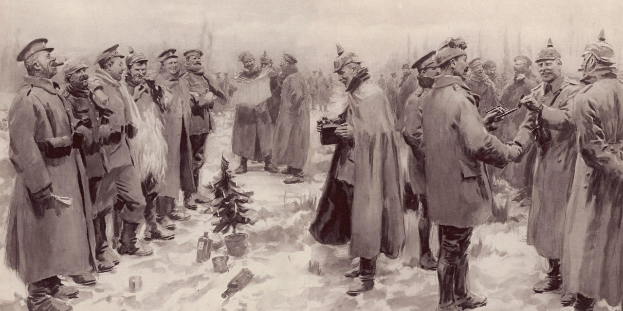 Weihnachtsfrieden 1914 / The Christmas Truce 1914